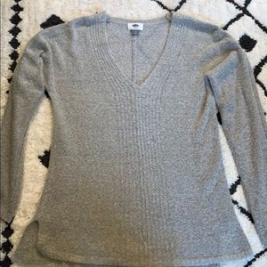 Old navy soft grey layering sweater